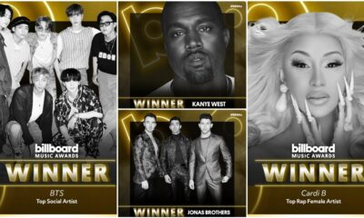 2020 Billboard Music Awards Winners List: BTS, Kanye West, Jonas Brothers, Cardi B And Others Win Big At The BBMAs
