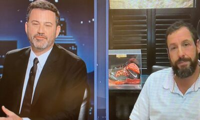 Adam Sandler on His New Look for Upcoming Basketball Movie: 'It's Disgusting, It's Not a Beard, It's a Mask'
