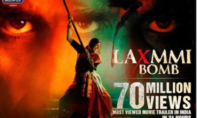 Akshay Kumar's Laxmmi Bomb Trailer Records 70 Million Views In 24 Hours; Becomes The Most Watched Trailer In India