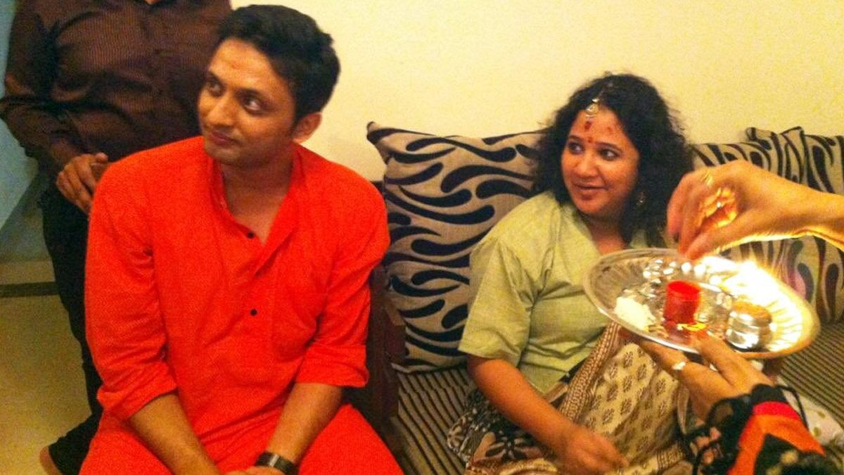Amidst Tanishq Ad Outrage, Rasika Agashe Shares Her Godbharai Pic with Hubby Mohammed Zeeshan Ayyub, Slams Trolls for Tagging Communal Harmony as Love Jihad