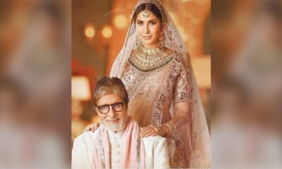 Amitabh Bachchan Shares A Throwback Pic With Katrina Kaif And Fans Are Bowled Over With His Caption!