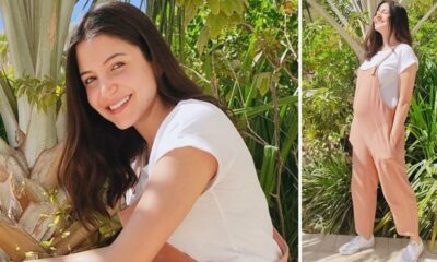 Anushka Sharma Flaunts Baby Bump and Wide Grin In Her Fresh Sunkissed Pictures!