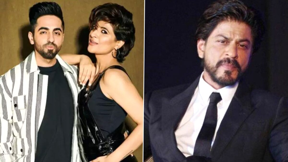 Ayushmann Khurrana, Tahira Kashyap Used to Turn Watching Shah Rukh Khan Movies Into Makeout Sessions; Here's What the Superstar Felt About it!