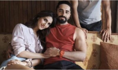 Ayushmann Khurrana and Vaani Kapoor's Film Entitled Chandigarh Kare Aashiqui, First On-Set Pic Quashes Rumours Of Actress' COVID-19 Diagnosis