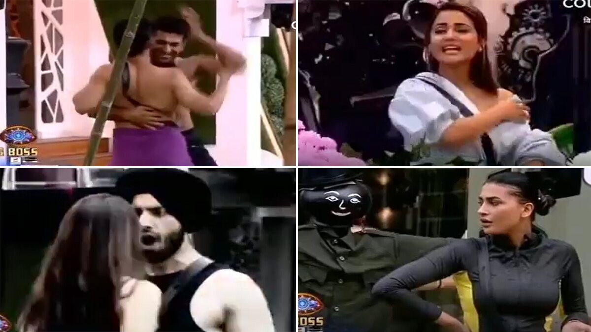 Bigg Boss 14 Preview:: Rahul Vaidya and Eijaz Khan's 'Ang Se Ang Lagana' Performance Leaves Hina Khan In Splits, Sanchalak Nikki Tamboli Abuses Shehzad Deol and Calls Him 'C*****a' (Watch Video)