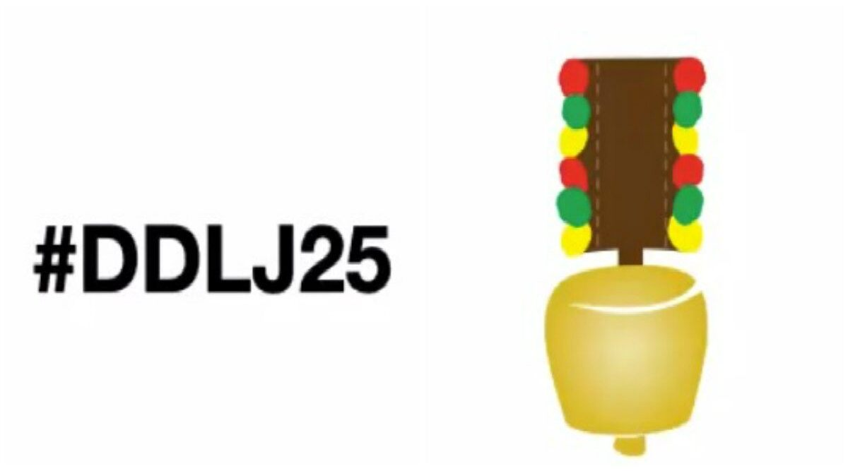 DDLJ Completes 25 Years! Twitter India Launches Iconic Swiss Cowbell Emoji to Celebrate Shah Rukh Khan And Kajol Starrer Movie