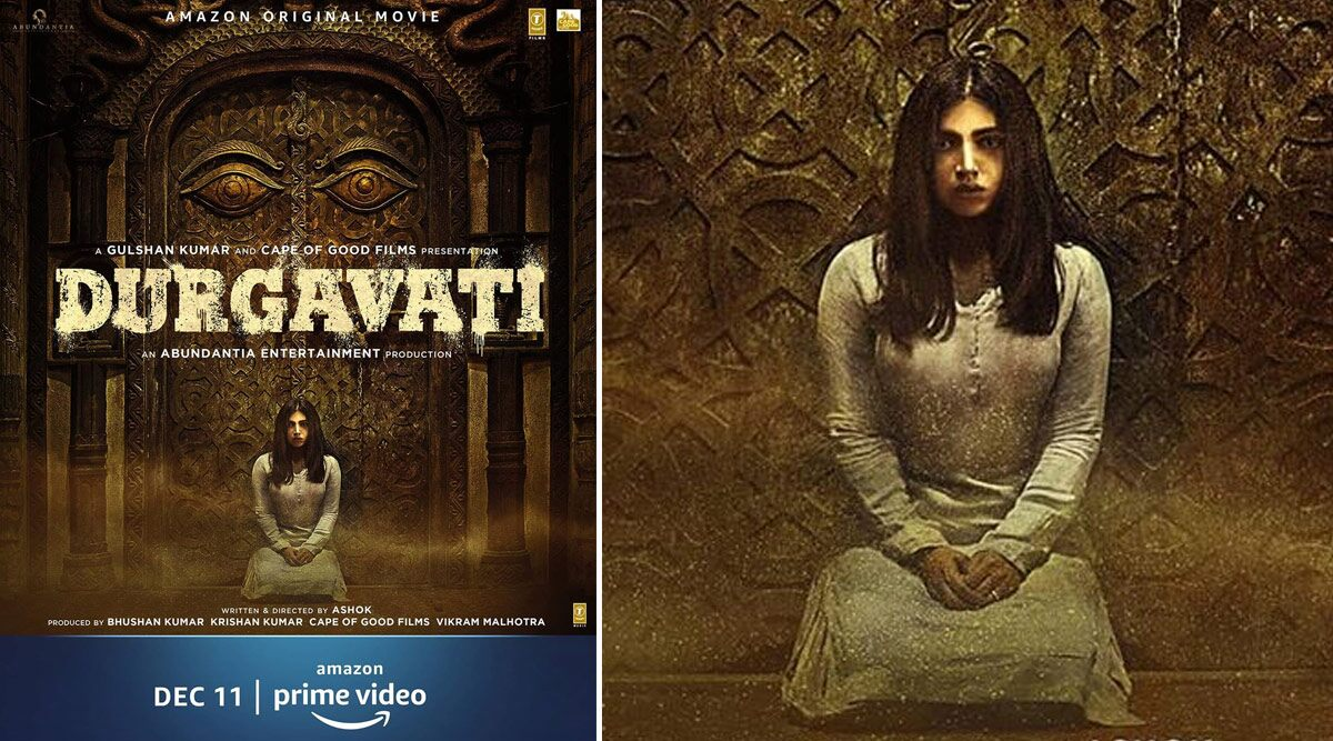 Durgavati: Bhumi Pednekar's Horror-Thriller to Release on December 11 on Amazon Prime Video, Check Out Spooky First Poster Here!