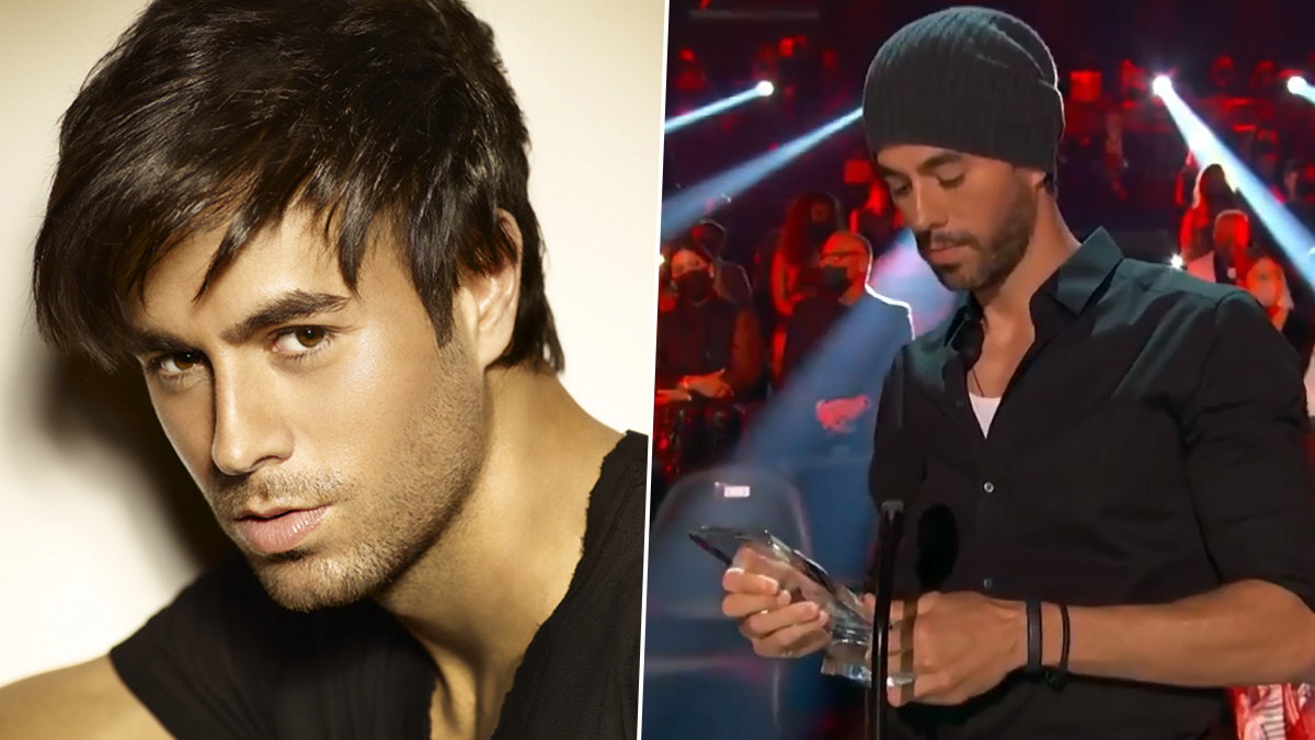 Enrique Iglesias Named Billboard's Top Latin Artist of All Time; Spanish Singer Accepts the Prestigious Award (Watch Video)