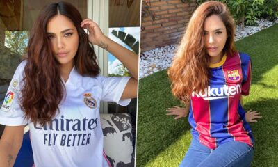 Esha Gupta Shares Her Excitement Ahead of Barcelona vs Real Madrid, El Clasico 2020; Asks Fans to Pick Their Favourite!