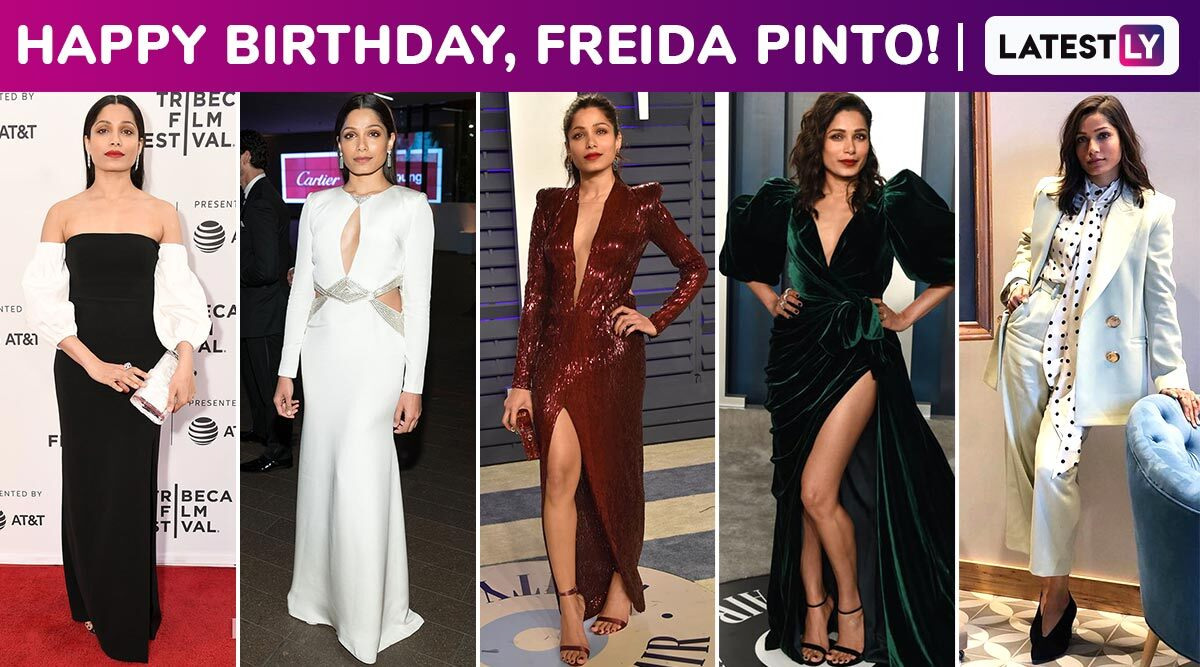 Freida Pinto Birthday Special: Acing the Subtle Art of Minimalist Elegance That Is Rare, Chic and the Most Complicated Skill!