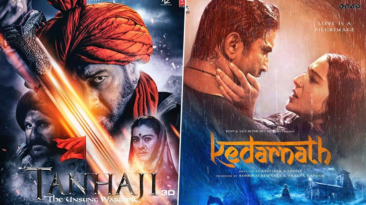 From Ajay Devgn's Tanhaji to Sushant Singh Rajput's Kedarnath, List Of Films To Re-Release In Theatres!