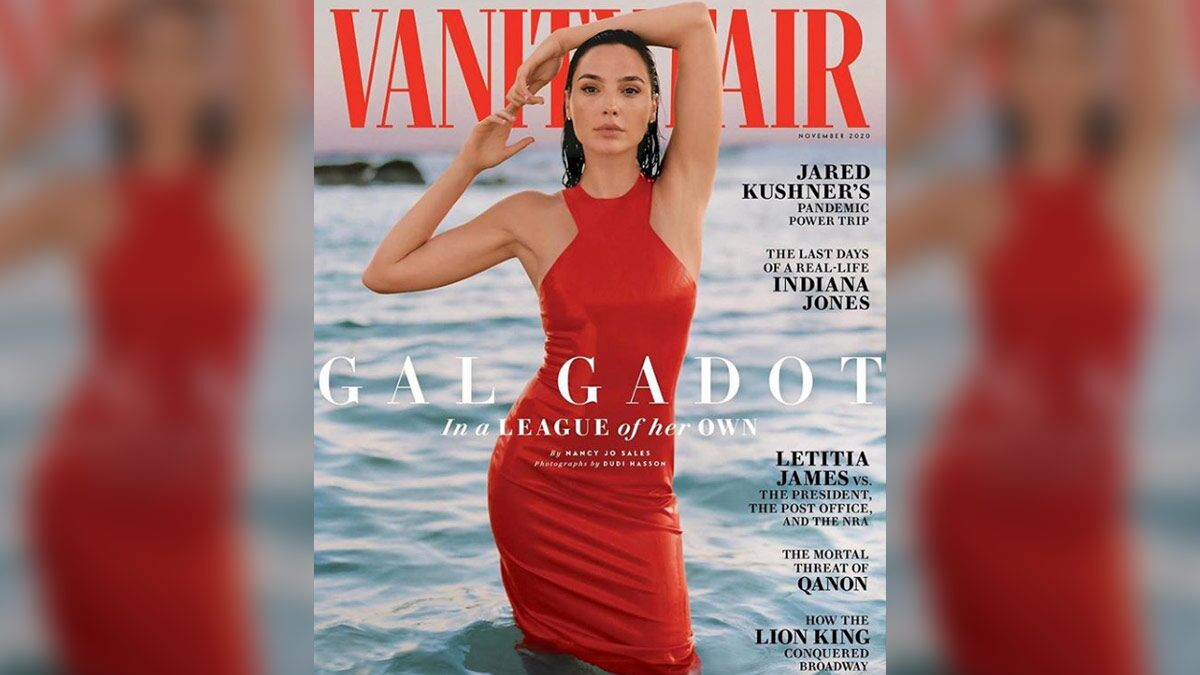 Gal Gadot is Redefining the Word 'Sensuous' through her New Photoshoot for Vanity Fair (View Pic)