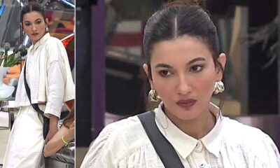 Gauahar Khan Is Powerful and Sustainable Chic in Ivory!