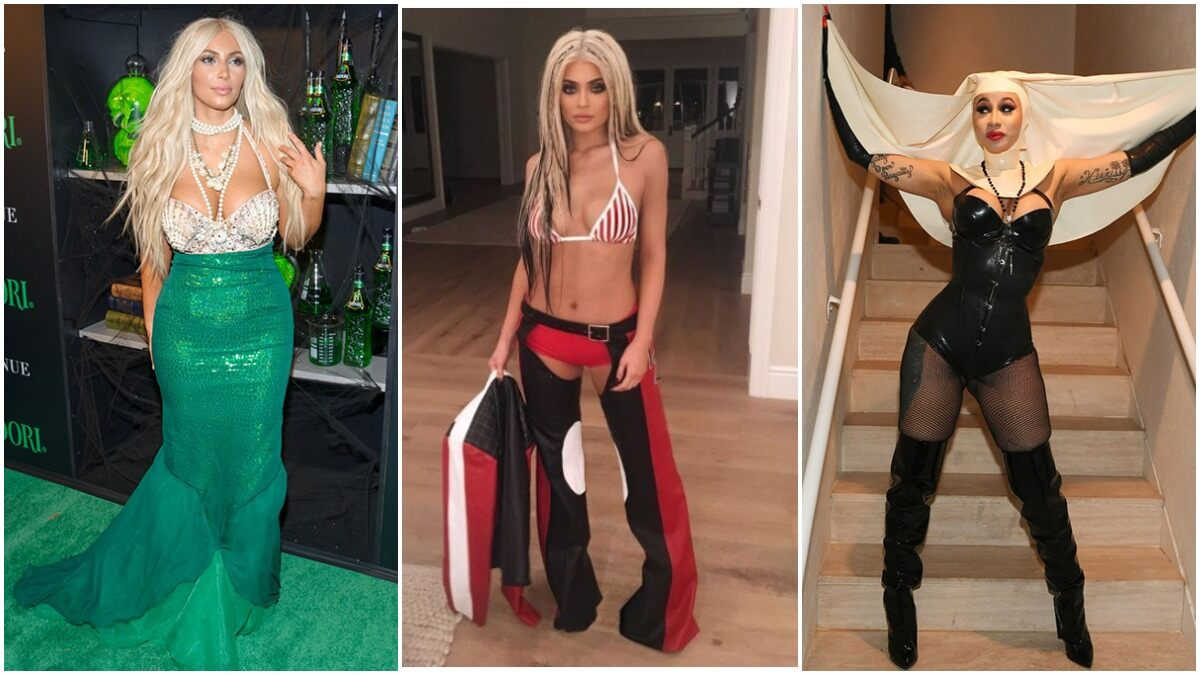 Halloween 2020: From Kim Kardashian to Kylie Jenner, a Look at Most Outrageous Costumes by Hollywood Celebs (View Pics)