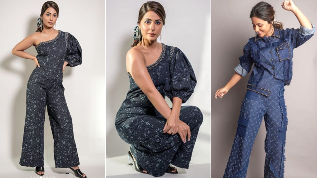 Hina Khan's Obsessed with Her Denim Jumpsuits and We are Equally Smitten (View Pics)