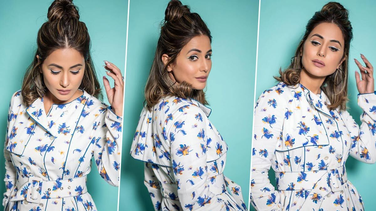 Hina Khan's White Trench Dress Is Going To Make You Want Your Own One Soon! (View Pics)