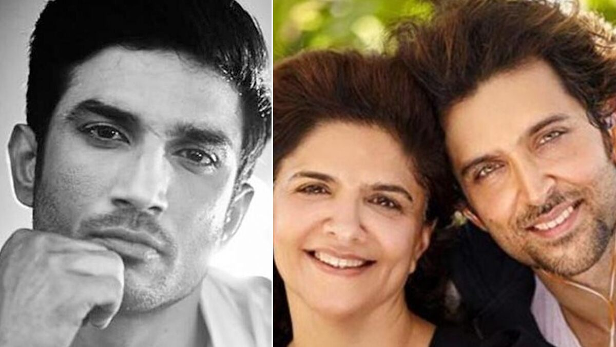 Hrithik Roshan's Mother Pinkie Roshan Shares a Cryptic Post on Sushant Singh Rajput