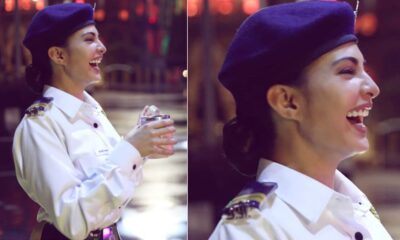 Jacqueline Fernandez Flaunts Her Gorgeous Smile Sporting a Police Uniform (See Pic)