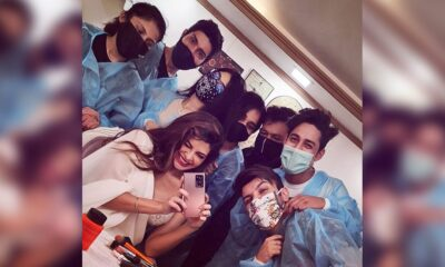 Jacqueline Fernandez Is Back to Work, Actress Shares a Happy Pic With Crew Members From Sets