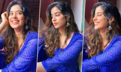 Janhvi Kapoor Is Having That Always Beautiful and Comfortable in an Anarkali Set Perfect for Everyday Mood!
