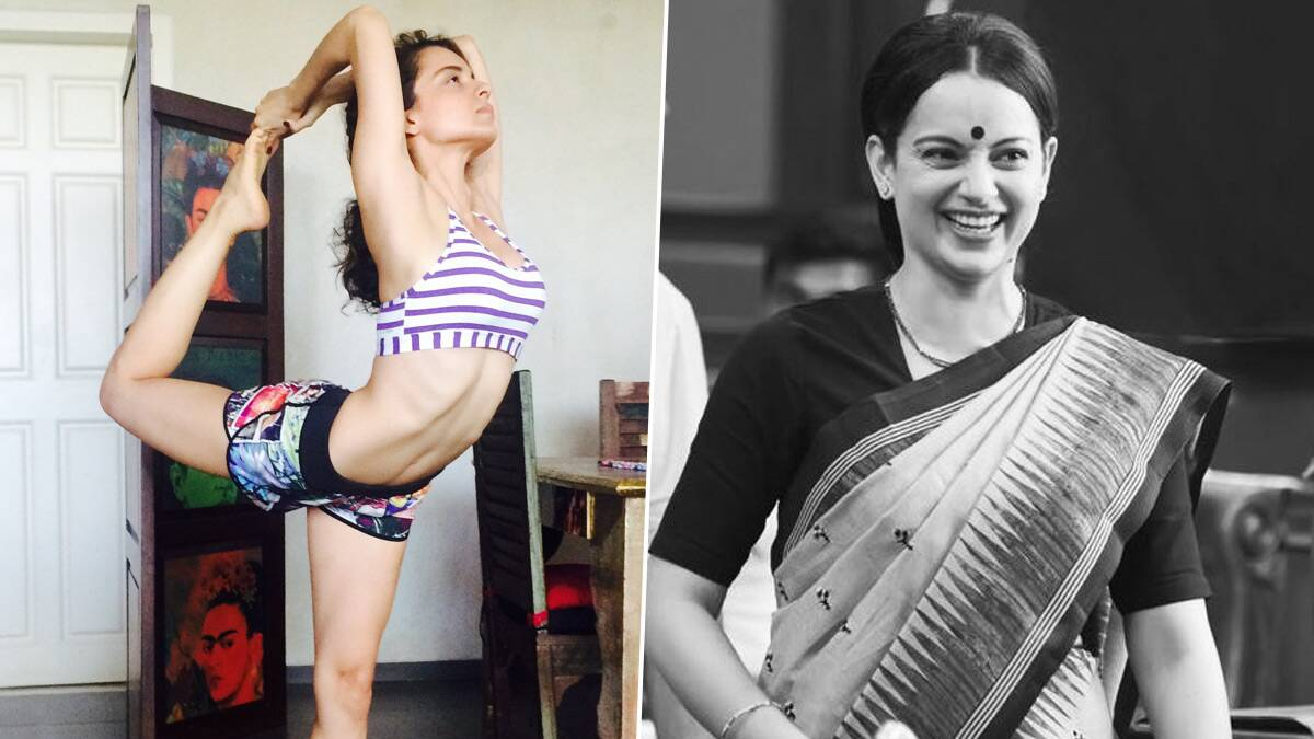 Kangana Ranaut Shares Her Terrific Transformation Pic As She Gets Back in Shape After Gaining 20 Kilos for Thalaivi
