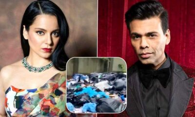 Kangana Ranaut Shares Video That Alleges Karan Johar's Team Threw Biomedical Waste on Roadside at Nerul Village Goa – WATCH