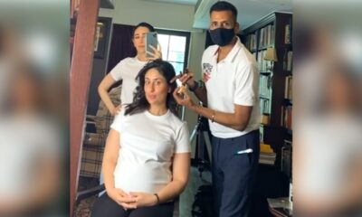 Kareena Kapoor Khan Flaunts Her Baby Bump as She Twins with Sis Karisma Kapoor During Shoot (View Post)