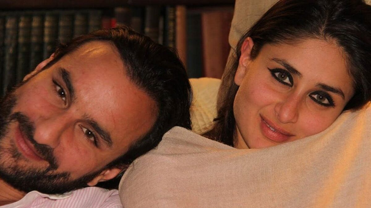 Kareena Kapoor Khan Wishes Saif Ali Khan On Their 8th Wedding Anniversary With a 'Fairy Tale' Post! (View Pic)