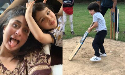 Kareena Kapoor Wants to Play in the IPL With Taimur, Posts a Picture of Son Playing Cricket