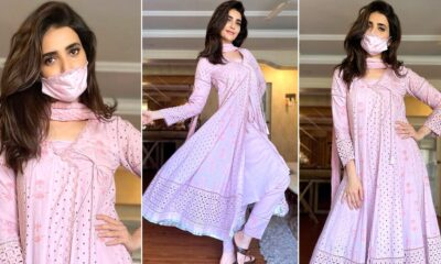Karishma Tanna Has That Classy Chic and Timelessly Elegant Pink Mood Going On!