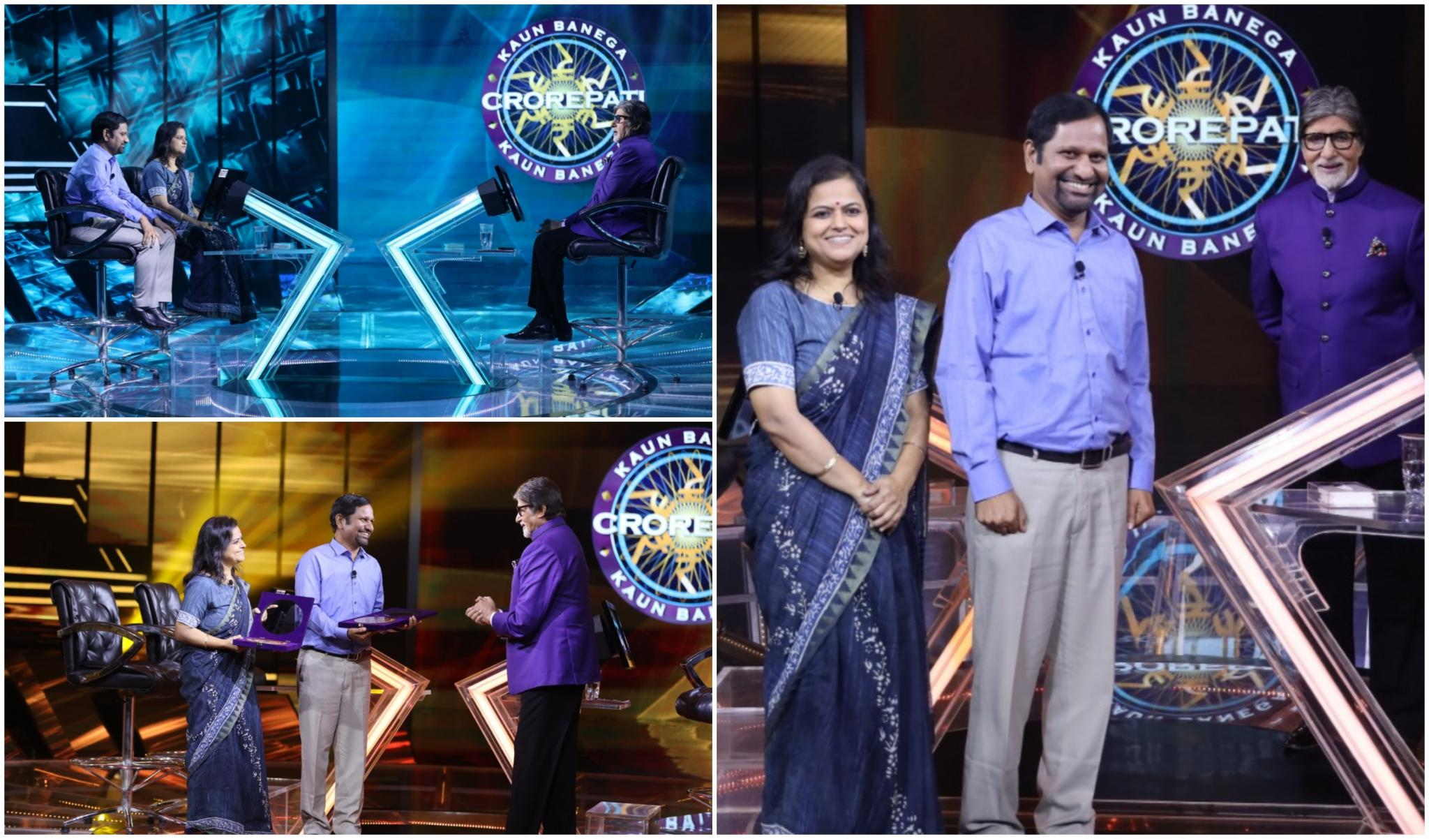 Kaun Banega Crorepati 12: This Week's Karamveer Are Gyanendra Purohit and Monica Purohit Who Aid Children With Special Needs