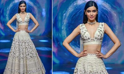 Lakme Fashion Week 2020: Diana Penty Turns Showstopper for Disha Patil and We Can't Decide if the Collection is More Gorgeous or the Muse (View Pics)