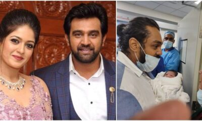 Late Actor Chiranjeevi Sarja's Wife Meghana Raj Blessed With a Baby Boy, See First Picture
