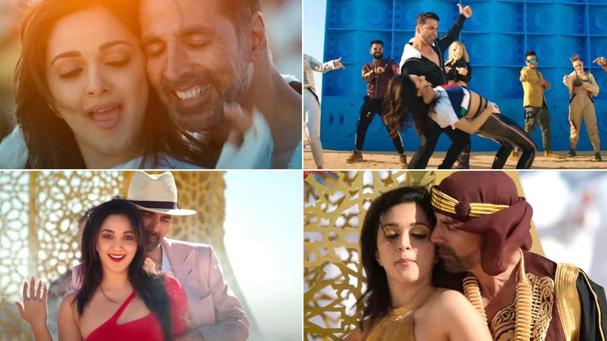 Laxmmi Bomb Song Burjkhalifa: Ignore the Lyrics and Enjoy Dubai in This Akshay Kumar-Kiara Advani Track (Watch Video)