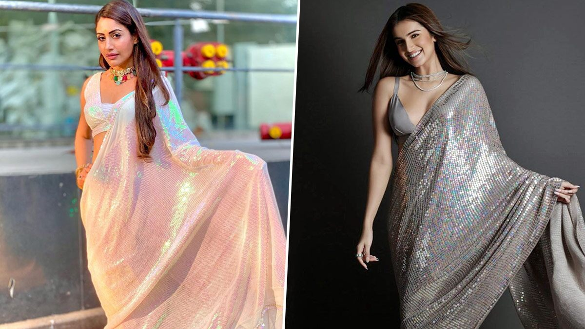 Naagin 5: Surbhi Chandna's Latest Look Feels Like A Rip-Off of Tara Sutaria's Show-Stealer Diwali 2019 Manish Malhotra Saree, Is It A Hit or Miss? Vote Now