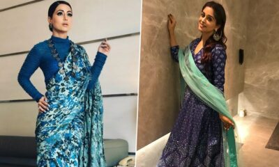 Navratri 2020 Day 5 Colour Blue: Hina Khan or Dipika Kakar - Whose Styling Attempt Gets Your Vote?