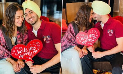 Neha Kakkar Shares the Moment When Beau Rohanpreet Singh Proposed to Her (View Pics)