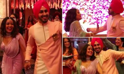 Neha Kakkar and Rohanpreet Singh Look Adorable in their Videos from Roka Ceremony