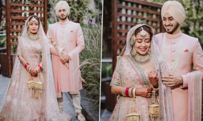 Neha Kakkar and Rohanpreet Singh Look Like A Dreamy Couple In These New Pictures From Their Wedding Day!