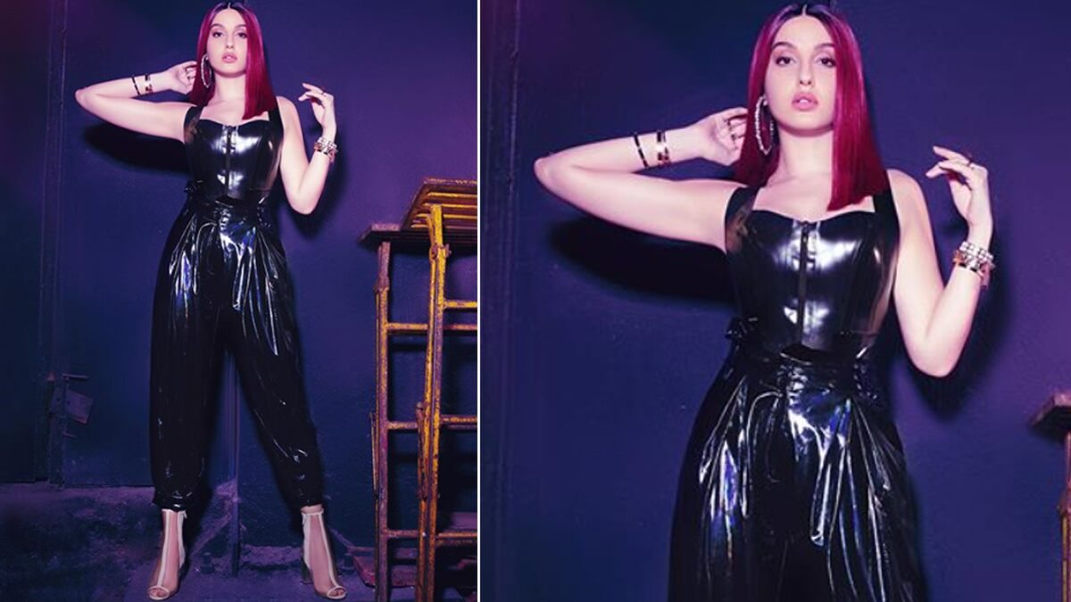 Nora Fatehi Casting a Black Spell With Her Stunning Fashion Outing (See Pics)