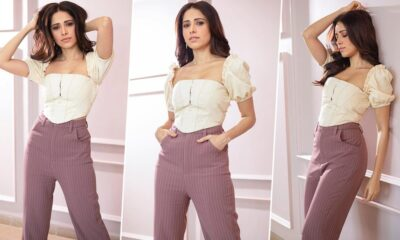 Nushrat Bharucha Dishing Out Some Casual Fashion Goals with her New Outfit for Chhalaang Promotions (View Pics)