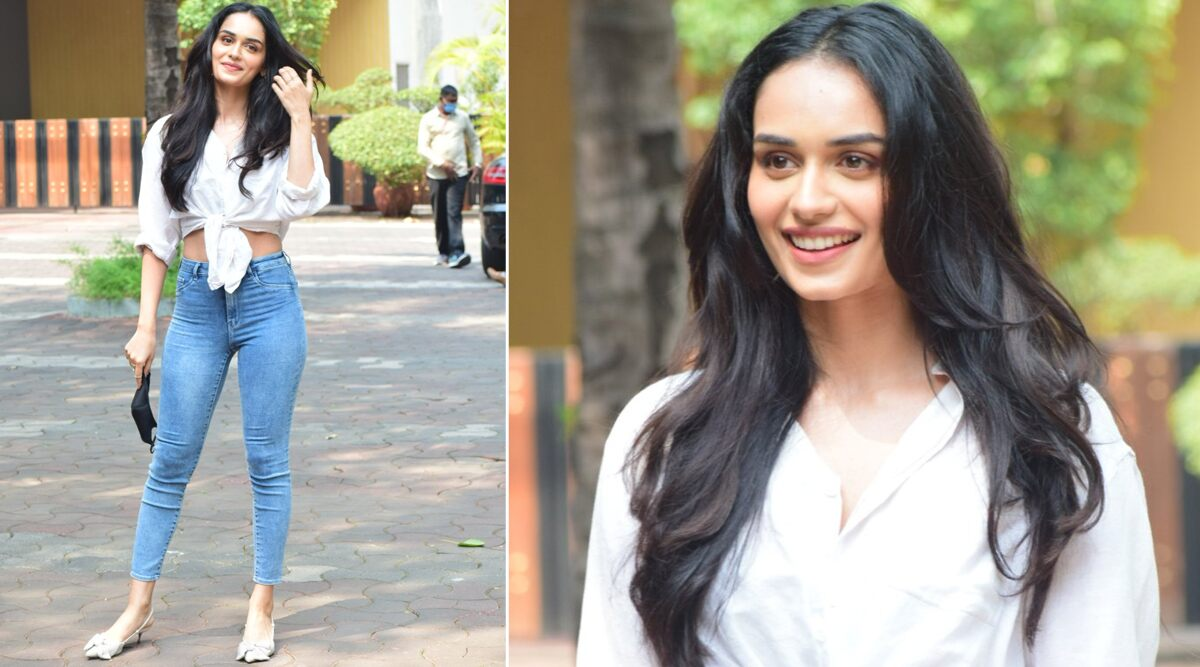 Prithviraj: Manushi Chhillar Spotted at YRF Studio For Script Reading of Akshay Kumar Starrer