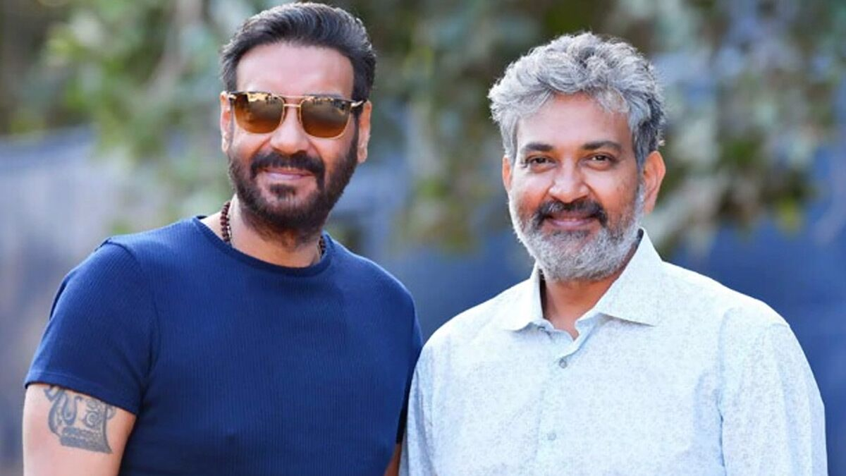 RRR Director SS Rajamouli Garu Gets Heartfelt Birthday Message From Ajay Devgn!