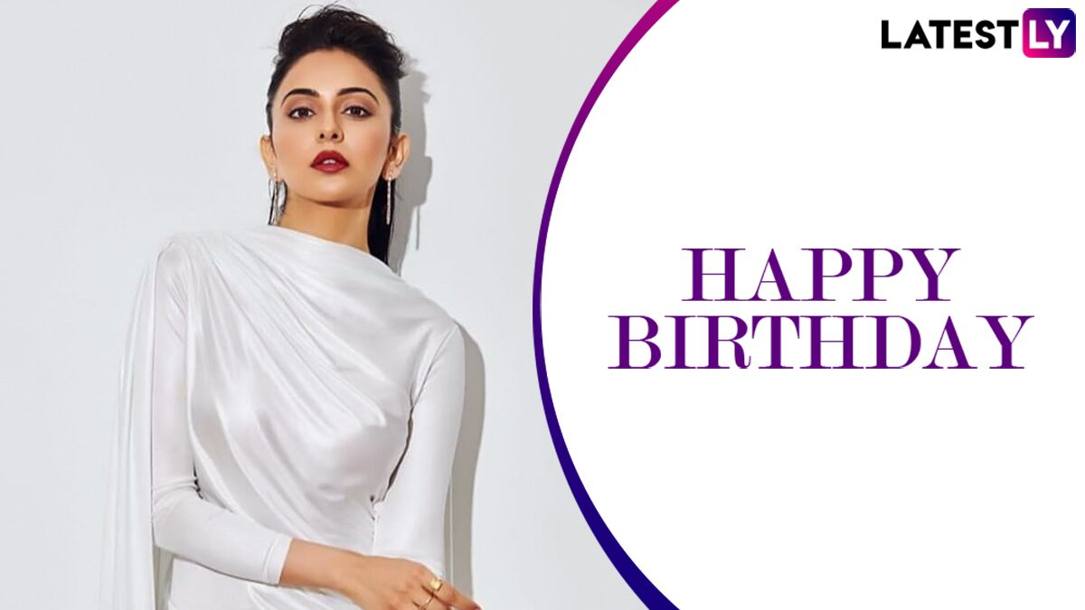 Rakul Preet Singh Birthday: Hauli Hauli And Other Songs Featuring This Beauty That You Can Play On The Loop! (Watch Videos)