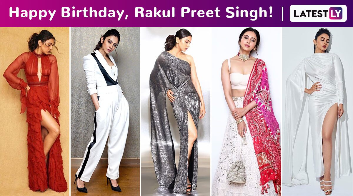Rakul Preet Singh Birthday Special: Versatile, High Octane Glamour and a Minimalist Lover, This Is How She Rolls!