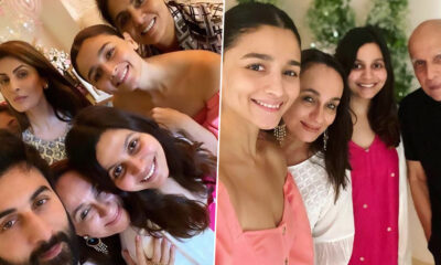 Ranbir Kapoor and Family Join Alia Bhatt as She Celebrate Mother Soni Razdan's Birthday (View Pics)