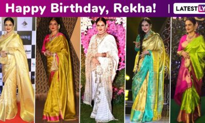Rekha Birthday Special: Giving Us a Reason to Stare, Reigning That Infinite Love for Six Yards of Elegance, Carving a Niche and Utmost Sophistication!