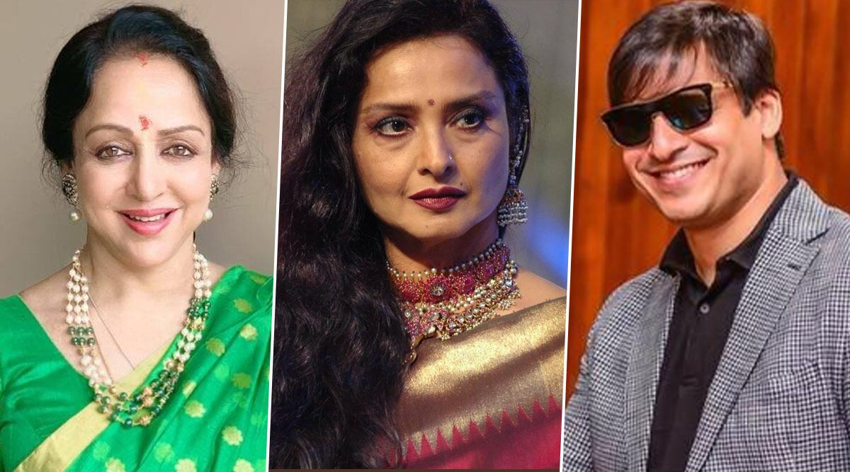 Rekha Turns 66: Hema Malini, Vivek Oberoi And More Wish The Legendary Actress On Her Birthday (View Tweets)