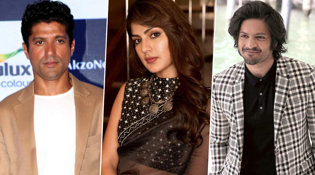 Rhea Chakraborty Granted Bail: Farhan Akhtar, Ali Fazal and Other Bollywood Celebs Tweet in Support of the Actress