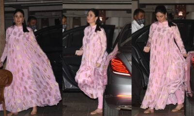 Rs 25,000! That's How Much Preggers Kareena Kapoor Khan's Pink Anarkali Outfit By Masaba Gupta Costs